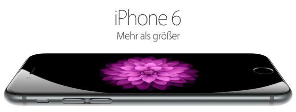 iPhone 6 Vodafone1 iPhone 6 16GB ab 49€ Zuzahlung + Vodafone Smart XL (1,5GB LTE + Allnet  und SMS Flat) ab 42,03€ monatlich