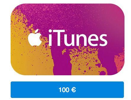 iTunes Guthaben 100€ iTunes Guthaben für nur 80€   nur online!