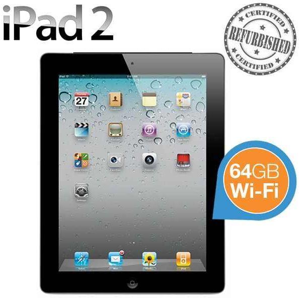Apple iPad 2   64GB, Wi Fi, Refurbished für 285,90€