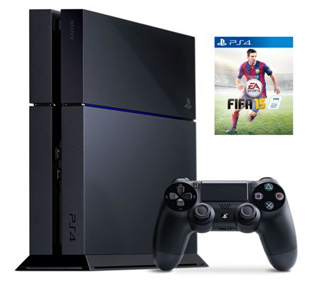 Playstation 4 500GB + Fifa 15 für 374,60€   Update!
