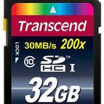 Transcend Extreme-Speed SDHC – 32GB Speicherkarte mit Class 10 für 9,99€