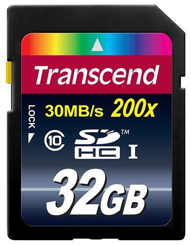 Transcend Extreme Speed SDHC   32GB Speicherkarte mit Class 10 für 9,99€