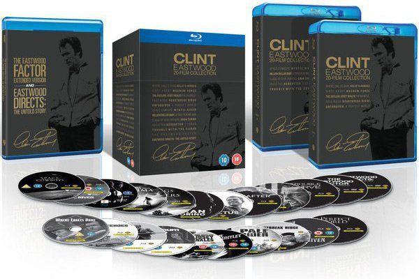 Clint Eastwood   20 Film Blu ray Collection für 39,48€ (statt 112€)