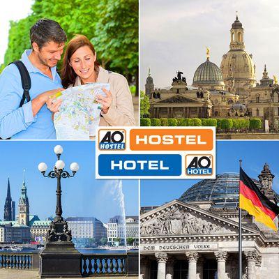 A O Hotels  A&O Hotels: Gutschein für 2 Nächte 2 Personen mit Frühstück für 69€