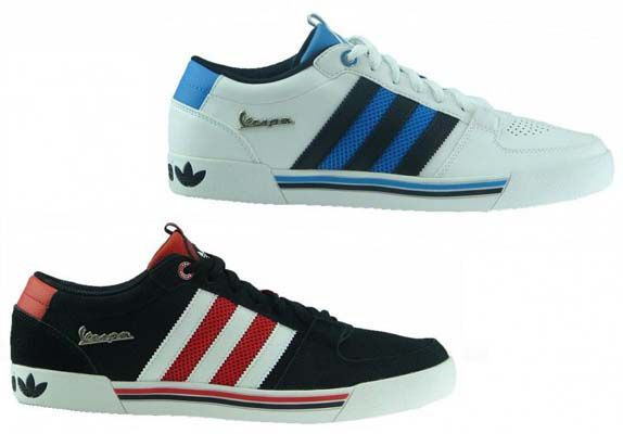 Adidas Vespa Lx Lo Sneaker in Schwarz oder Weiß für je 49,99€