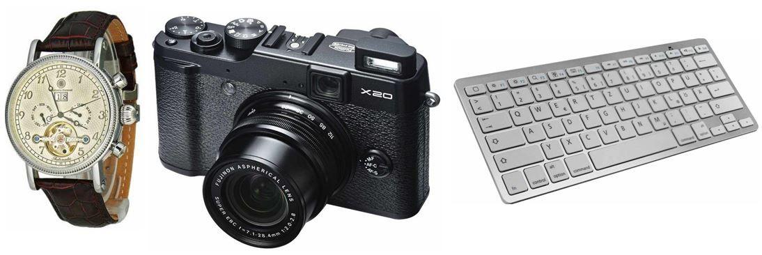 Amazon 13 Fujifilm X20 Digitalkamera für 369€ bei den 20 Amazon Blitz Angeboten