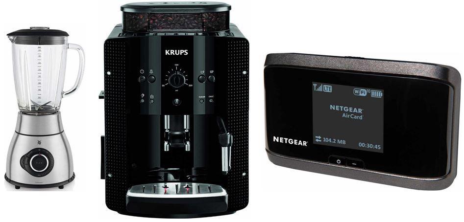 Krups EA8108 Espresso Kaffee Vollautomat mit CappuccinoPlus Milchdüse bei den 12 Amazon Blitzangeboten
