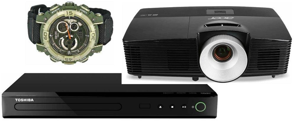Acer P1283   3D XGA DLP Projektor, 3.000 ANSI Lumen für 289€ bei den 16 Amazon Blitz Angeboten