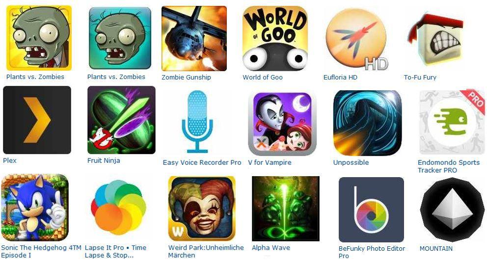 Kostenlos! 41 Android und Kindle Apps im Wert von 100€   Update