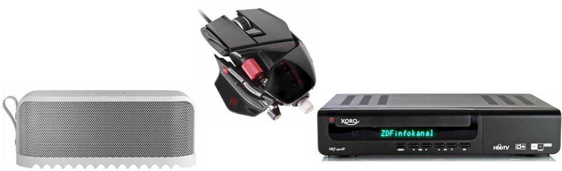 Xoro HRS 9500 IP   digitaler HD+ Sat Receiver Twin Tuner für 149€ bei den 29 Amazon Blitzangeboten