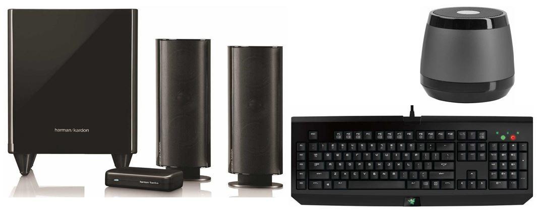 Harman Kardon HKTS 200 BQ W 2.1 Lautsprechersystem bei den 17 Amazon Blitzangeboten