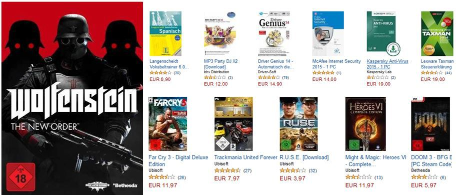 The Evil Within (100 % Uncut) für PC und Konsolen ab 36,97€ beim Amazon Games  & Software Downloads im Halloween Sale