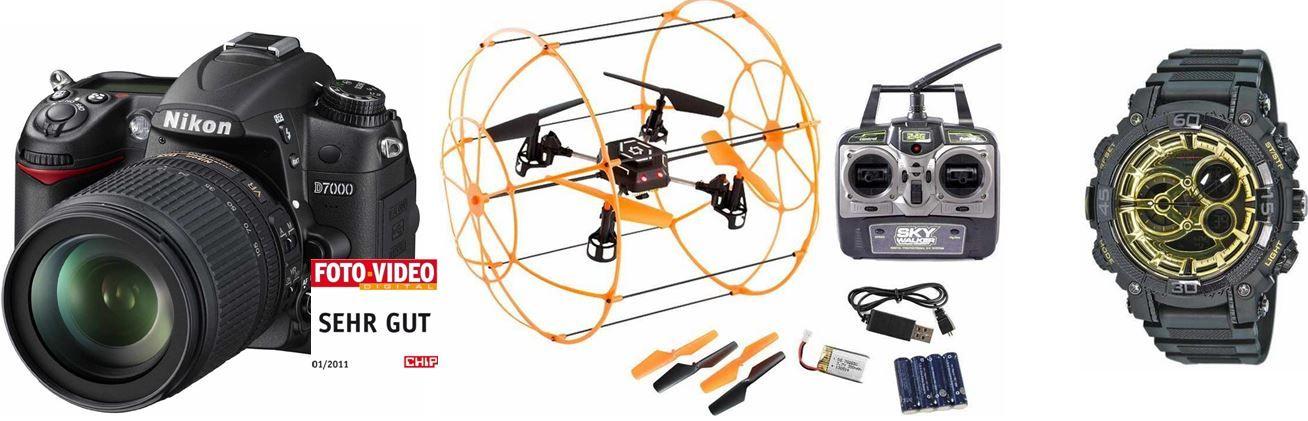 HMF C698 RC Quadrocopter   4 Kanal Drohne für € bei den 35 Amazon Blitzangeboten