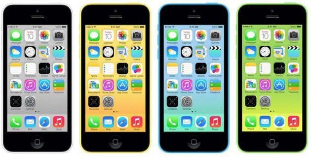 Apple iPhone 5C Apple iPhone 5C 16GB (Demoware) für 343,17€ (statt 440€)