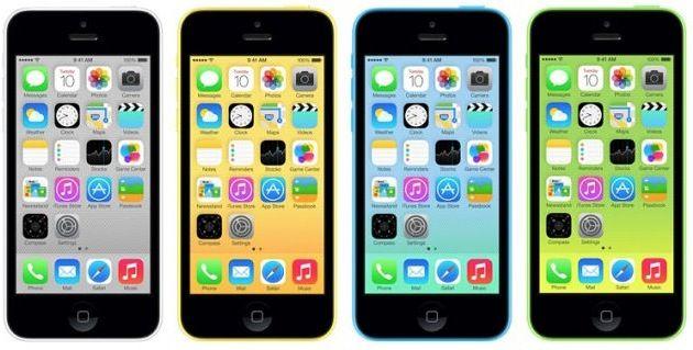 Apple iPhone 5C 16GB (Demoware) für 343,17€ (statt 440€)