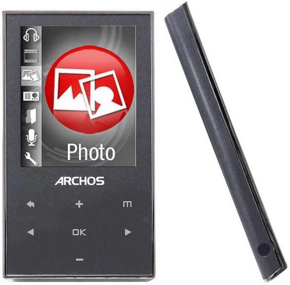 ARCHOS 20c vision   8GB  Media MP3 Player mit 2 TFT Display & FM Radio für 13,90€