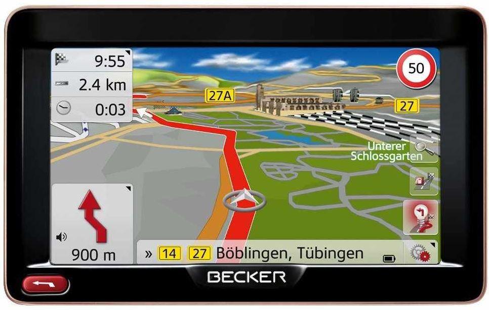 Becker Ready 50 LMU Plus   5 Zoll TMC Navi 47 Länder Europas inkl. Türkei & Russland für 129€