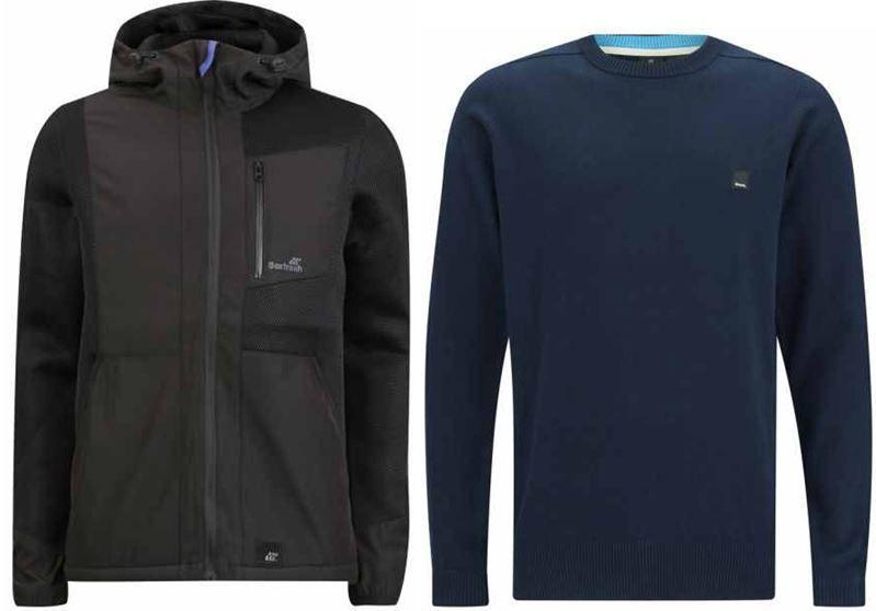 BENCH Total Eclipse Herren Sweater ab 20,69€ und Boxfresh Belent Herren Jacke für 28,95€