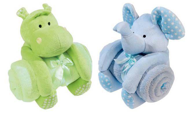 Biederlack Wohndecke Kids Dream Set Elefant oder Hippo ab 9,99€