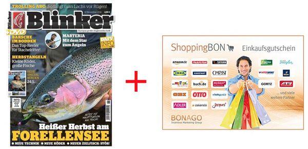 Blinker Blinker Jahresabo mit 12 Ausgaben für effektiv 7,40€ dank Gutschein Prämie