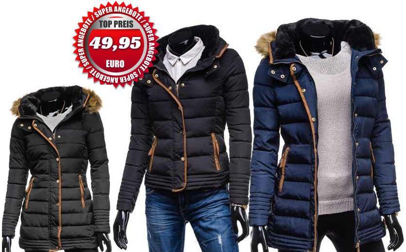 Bolf Damen Winter   Steppjacke mit Kapuze für je 49,95€