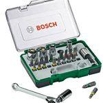 Bosch 26-tlg. Schrauberbit-Set + Ratsche für 12,69€ (statt 15€)