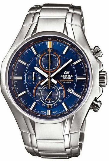 Casio Edifice EFR 522D 2AVEF   Herren XL Analog Edelstahl Quarz Armbanduhr statt 149€ für 79,76€   Update