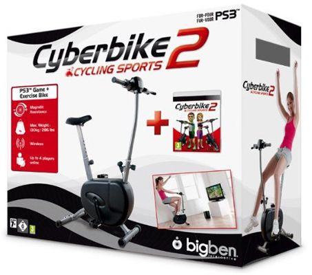 Cyberbike 2 Cyberbike 2 inkl. Fahrrad (PS3) für 59,99€
