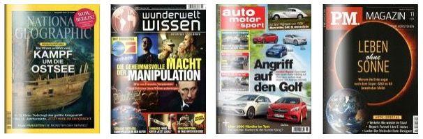 DPV Herbstaktion Teil 2 – z.B. 26 Ausgaben auto motor und sport für effektiv 29,50€