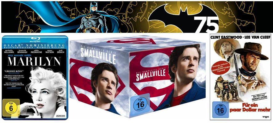 Western und Eastern bis  40% und mehr Amazon DVD und Blu ray Angebote