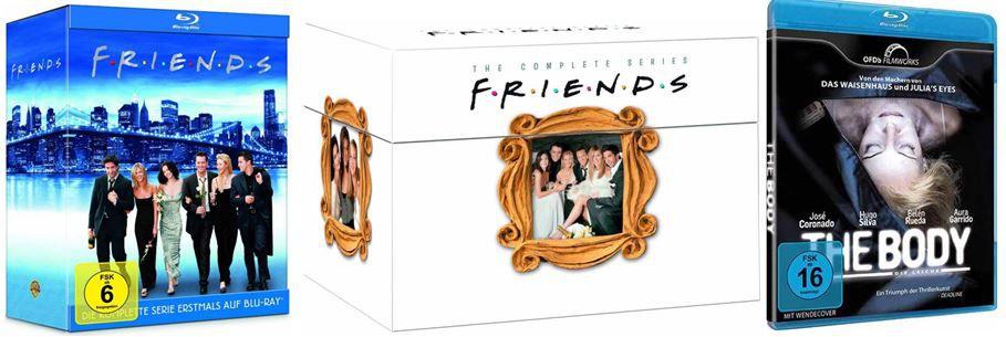 DVD Blu ray16 Friends Superbox   Die Jahre 1994 2004 für 64,97€ und mehr bei den Amazon DVD und Blu ray Angeboten der Woche