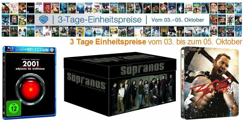 DVD Blu ray2 Die Sopranos   Die ultimative Mafiabox für 44,44€ bei der 3 Tage Film Schnäppchen Amazon Aktion   Update!