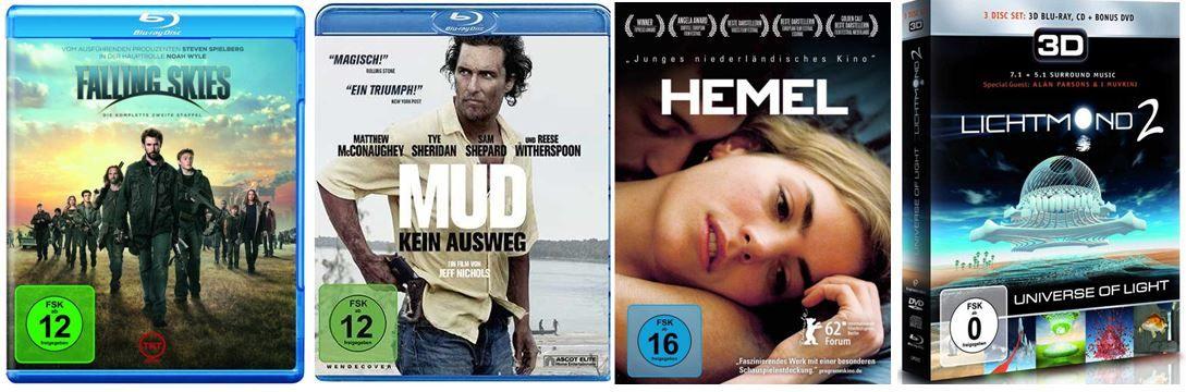 DVD Blu ray4 Lichtmond ab 7,97€ und mehr bei den Amazon DVD und Blu ray Angeboten der Woche