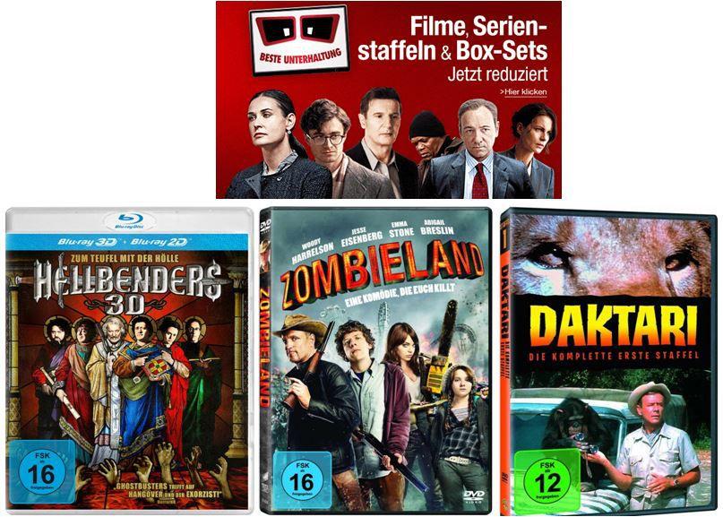 Filme, TV Serien & Boxsets zum Sonderpreis und mehr Amazon DVD und Blu ray Angebote   Update!