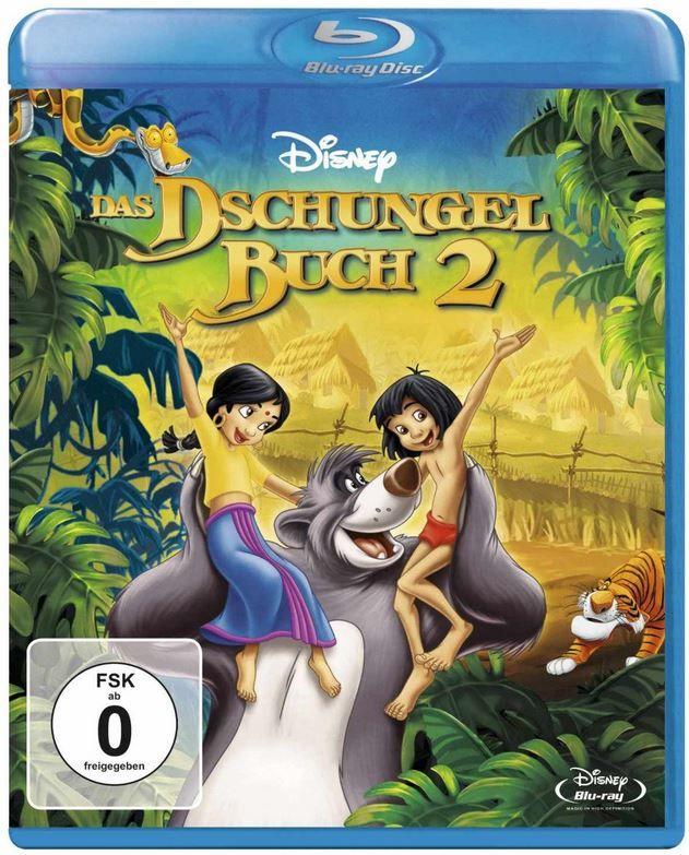 Das Dschungelbuch 2   auf Blu ray ab nur 7,99€