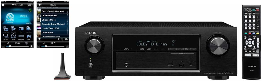 Denon AVRX1100W Denon AVR X1100W Surround AV Receiver für 299€