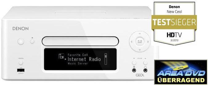 Denon RCD N8WT   Netzwerk Kompaktreceiver (DLNA, AirPlay) statt 380 für 279€ und mehr Cyberport Weekend Deals