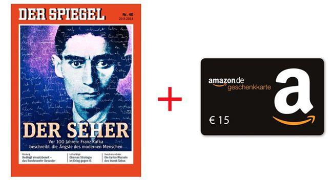 Der Spiegel 7 Ausgaben Der Spiegel – dank 15€ Amazon Gutschein effektiv nur 4,90€