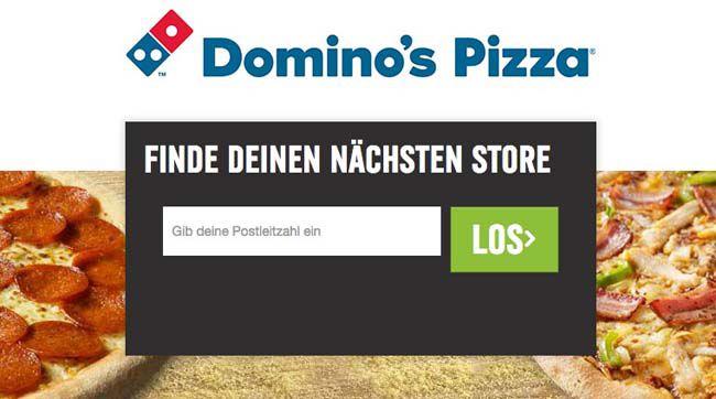 33% Rabatt bei Dominos Pizza dank Gutschein   nur bei Lieferung
