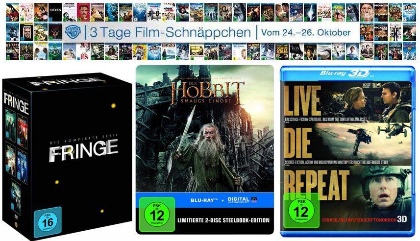 Filme 3D Blu rays ab 13,13€ bei der 3 Tage Film Schnäppchen Amazon Aktion   Update!
