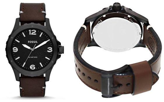 Fossil Nate JR1450 Fossil Nate JR1450 Herren Armbanduhr für 49,99€