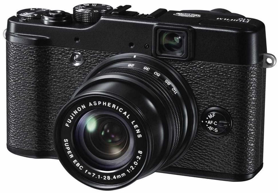 Fuji FinePix X10   12MP Digital Kamera statt 295€ für 231,96€