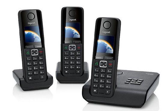 Gigaset A630 A Trio Schnurlostelefon mit Anrufbeantworter für 67,88€