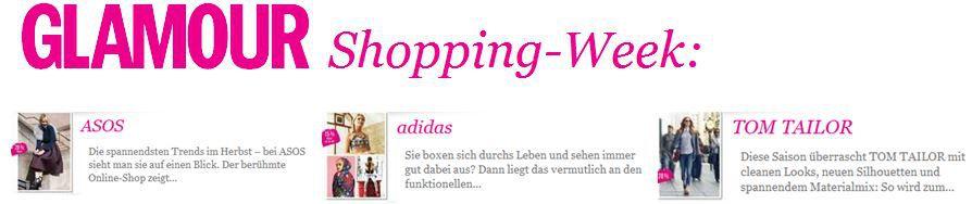 Glamour Glamour Shopping Week Gutscheine bis zum 11.10.2014   Update