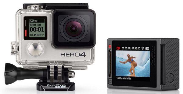 Gopro HERO 4 Silver Edition GoPro HERO 4 Silver Edition für 306,25€ (statt 376€)