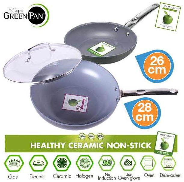 Green Pan GreenPan   Pfannenset mit Thermolon Antihaft Technologie für 35,90€