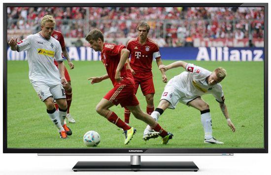 Grundig 55 VLE 923 BL Grundig 55 VLE 923 BL   55 Zoll 3D WLAN Smart TV mit Triple Tuner für 549,99€   Top!