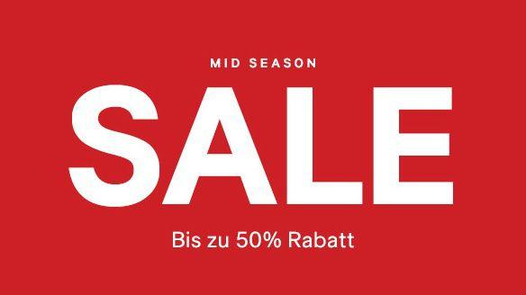 Bis zu 50% Rabatt im Mid Season Sale bei H&M oder 25% Rabatt auf einen Artikel eurer Wahl