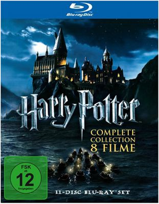 Harry Potter Harry Potter   Complete Collection auf Blu ray für 21,53€   Update!