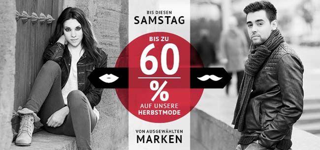 Bis zu 60% Rabatt auf ausgewählte Herbstmode + 10€ Gutschein bei Hoodboyz